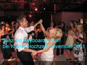 Keyboarder Karl in Köln Alleinunterhalter bei Hochzeit
