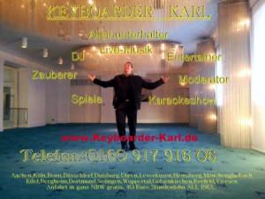 Elvis Imitator Aachen Live Musik Alleinunterhalter und DJ Köln