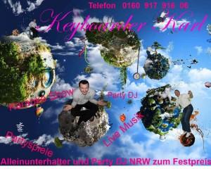 Alleinunterhalter Köln Keyboarder Karl 25.02.2014
