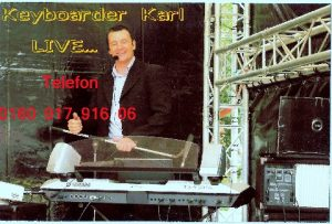 Alleinunterhalter Eschweiler und Party DJ Eschweiler Keyboarder Karl