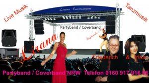 Coverband Eschweiler PartyBand Eschweiler mit top Besetzungen und top Sängerin und inklusive gigantischem Equipment.