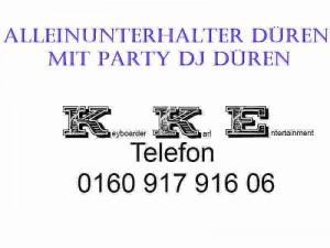 Alleinunterhalter Düren mit Alleinunterhalter Dueren Anlage und Party DJ Düren mit Dj Dueren Musik Anlage zum Festpreis