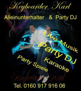 Alleinunterhalter Koeln Party DJ Köln mit Anlage