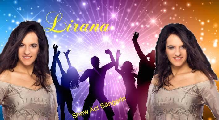 Show Act Sängerin Lirana - Sängerin der Coverband NRW auch einzeln buchbar als Showact für Karneval, Hochzeit, geburtstag und Firmen Feier sowie Show Act Sängerin für Stadtfest
