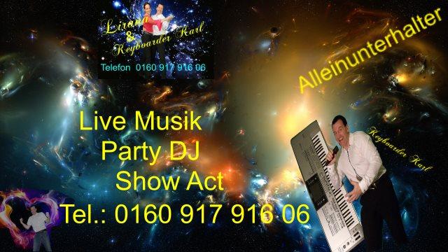 Alleinunterhalter Baesweiler -Show Act Sängerin Baesweiler mit DJ und Live Musik buchen