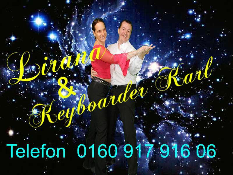 Musik Duo Hessen Sängerin Lirana und Alleinunterhalter Hessen Keyboarder Karl