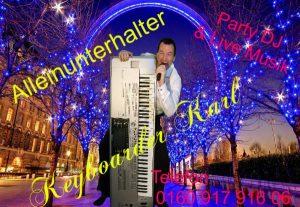 Alleinunterhalter Hilden, Alleinunterhalter Monheim, Alleinunterhalter Haan hier für Hochzeit, Geburtstag, Betriebs Fest mit Discjockey und Live Musik buchen