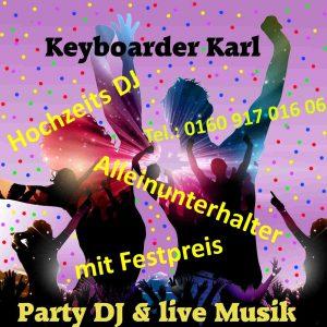 Alleinunterhalter Oktoberfest Köln Party Discjockey Oktoberfest Köln mit DJ Köln und Live Musik in Köln