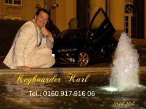 Alleinunterhalter Köln - Live Musik mit Keyboarder Karl - ideal für Gala Dinner, Hochzeit, Geburtstag Stadt und Firmen Feier