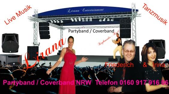 Party Band Köln - Coverband Köln live Musik mit der Kölner Party Band in ganz NRW