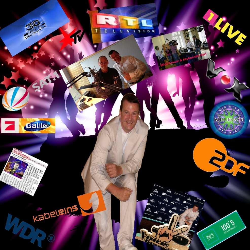 Alleinunterhalter Berlin und Party Dj Berlin zum Festpreis mit Live Musik und Dj Musik