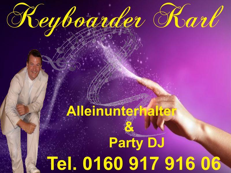 Alleinunterhalter für Hochzeit in ganz NRW buchbar zum Festpreis inklusive DJ