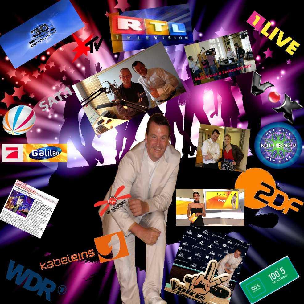 Referenzen als Hochzeits DJ und top Bewertungen aus TV und Rundfunk als Alleinunterhalter für Hochzeit Events