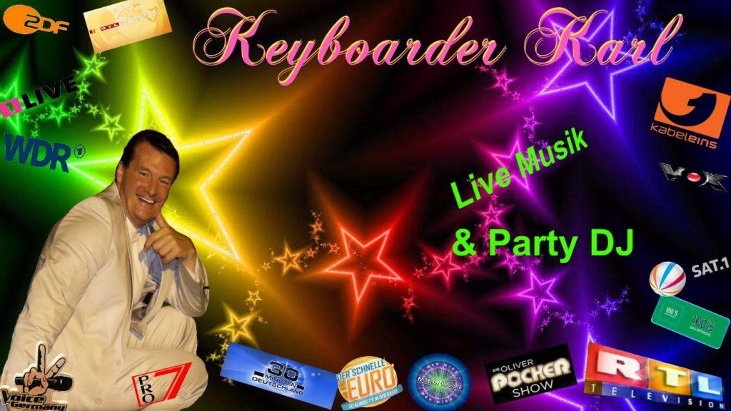Alleinunterhalter Keyboarder Karl, Hochzeits Dj Baesweiler, Entertainer Baesweiler, Alleinunterhalter mit top Unterhaltungs Programm