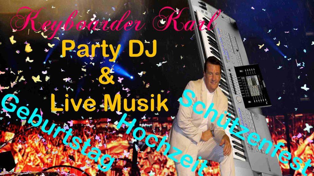 Alleinunterhalter Glauchau Musiker und DJ für Geburtstag Hochzeit Schützenfest mit Anlage