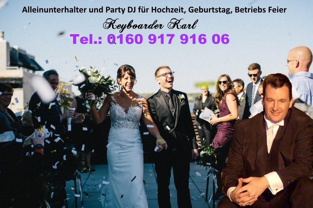 Alleinunterhalter Köln mit Live Musik und DJ Musik in the Mix hier zum Festpreis für Hochzeit Geburtstag Firmen Feier und Schützenfest buchen