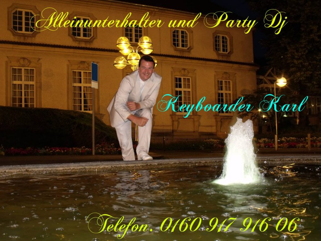 Entertainer und Party DJ für alle events mit top Anlage