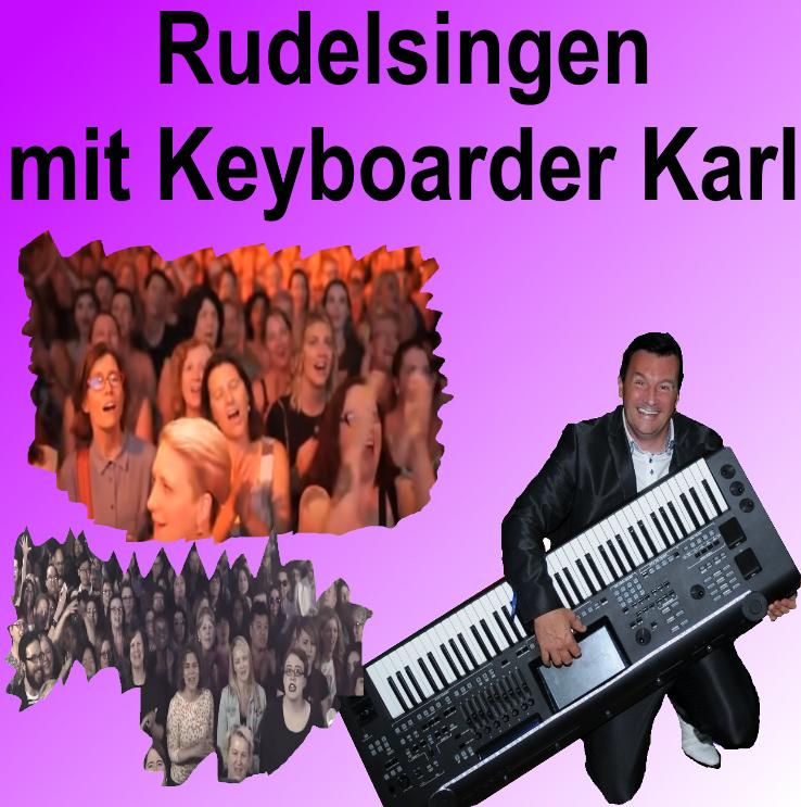 Rudelsingen Köln - Keyboarder Karl in Köln für Rudelsingen zum Festpreis buchen