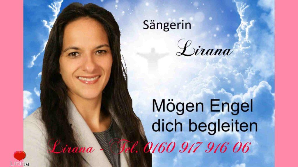 Sängerin zur Taufe - Hochzeit - Trauerfall - Lirana - Mögen Engel dich begleiten - Hochzeits Sängerin Aachen Köln Bonn Düren Düsseldorf Euskirchen Leverkusen Bergheim Eifel