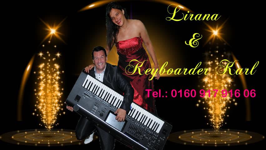 Lirana und Keyboarder Karl - Musik Duo NRW für alle Veranstaltungen