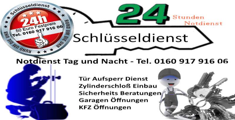 Schlüsseldienst Notdienst 50 Euro