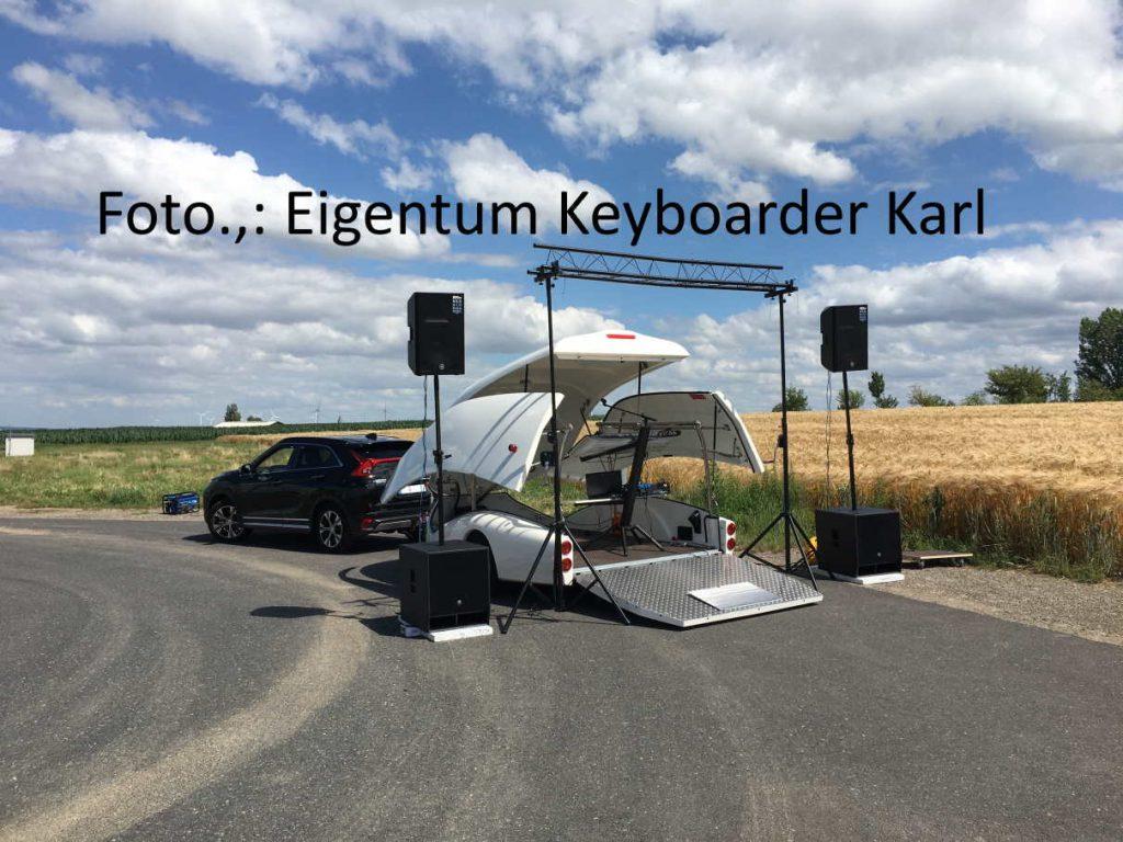 Show Truck - Mobile Bühne - Keyboarder Karl - Alleinunterhalter NRW NEWS - Welt Neuheit